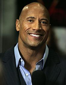 Dwayne Johnson's Portrait