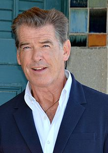 Pierce Brosnan's Portrait